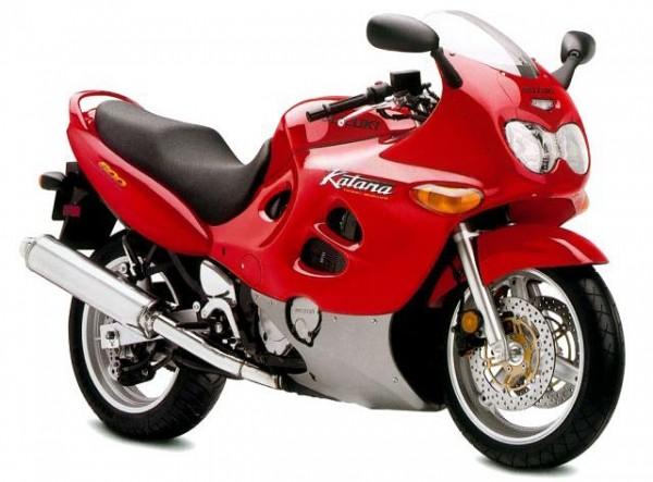 Мотоцикл Suzuki GSX 600F Katana